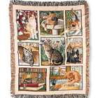 Cotton Cats Tapestry Throw
