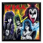 KISS Time To Rock Light Up Musical Wall Clock with Motion