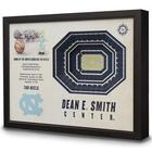 North Carolina Dean E. Smith Center 3D View Wall Art