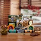 Ultimate Gourmet Nut and Sausage Board Gift Basket
