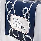 Personalized Nautical Anchor Bridal Table Runner