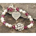 Big Blossom Flower Girl Bracelet