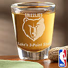 NBA Logo Personalized Shot Glass
