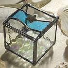 Stained Glass Starfish Jewelry Box
