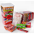 Popcorn and Candy Party in a Box Gift Box