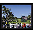 Personalized Golf Leader Board Art Print