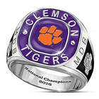 Clemson Tigers 2016 National Champions Monogrammed Ring