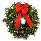 Old Fashioned Memories Evergreen Christmas Wreath