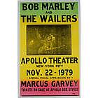 Bob Marley Apollo Theatre Poster