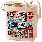Live in the Sunshine Canvas Tote