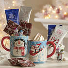 Snowman Cocoa Mug with Treats