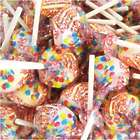 5 Pounds of Wrapped Double Lollies Lollipops