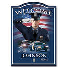 A Hero's Welcome Personalized Plaque