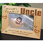 World's Coolest Personalized Wood Picture Frame