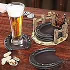 Cimarron Horseshoe Drink Coasters