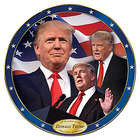 45th President Donald Trump Collector Plate