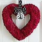 Sweetheart Pink Coxcomb Wreath
