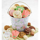 Mother's Day Cutout Cookies and Treats Gift Pail