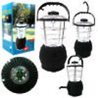 Super Bright Hand Crank Operated Lantern with Compass