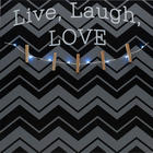 Live Laugh Love Photo Clip Board