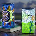 Outdoor Solar Mosaic Table Lamp