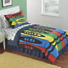 Crayons Design Complete Full Bed Set