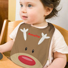 Personalized Reindeer Baby Bib