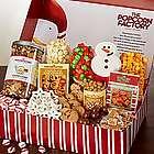 Peek-A-Boo Snowman Snacker's Choice Gift Box