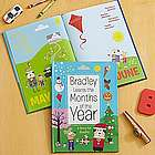 Personalized Months of the Year Storybook