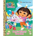 Dora's Birthday Surprise Little Golden Book