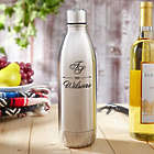 Personalized Sheridan Stainless Steel Wine Growler