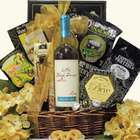 Little Black Dress Divalicious Red or White Wine Gift Basket