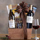 California Red and White Duet Gift Basket