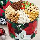 Winter Floral 7-Way Snack Assortment Tin
