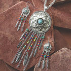 Dreamcatcher Necklace and Earring Set