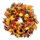 """26"""" Autumn Harvest Fall Wreath"""