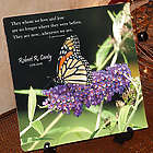 Wherever We Are Personalized Memorial Photo Wall Canvas