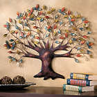 Tree of Life Powder-Coated Iron Wall Decor