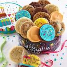 Musical Birthday and Cookies Gift Tin