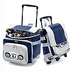 Rockin and Rollin iPod Ready Collapsible Cooler on Wheels