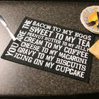 You Are the Bacon to My Eggs Placemats