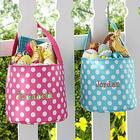 Happy Dots Personalized Easter Tote