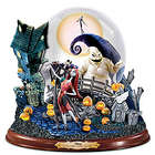 The Nightmare Before Christmas Snowglobe with Lights and Music