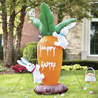 Carrot and Bunnies Inflatable