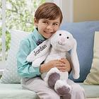 Hop 'N Cuddle Personalized Stuffed Bunny