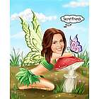 Butterfly Friends Caricature from Photos