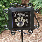 Personalized Faithful Friend Memorial Garden Stake