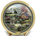 Thomas Kinkade Faith, Hope, and Love Masterpiece Collector Plate