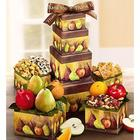 Thank You Succulent Fresh Fruit Gift Tower