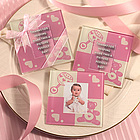 Baby Shower Photo Coaster Favors